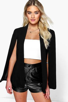 Amber Tailored Woven Cape