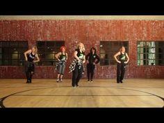 """Alone"" by Hollyn (feat TRU) Zumba Dance Fitness Routine - YouTube"