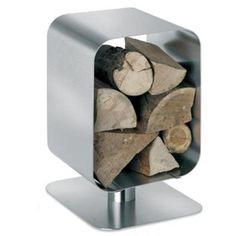 Stainless Log Holder