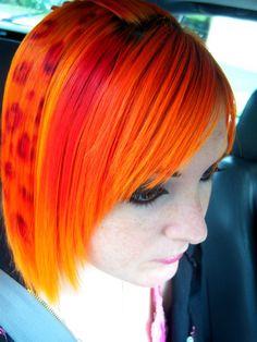 hair, hair color, orange, orange hair