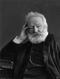 Victor Hugo par Nadar (Les misérables, Claude Gueux, Le dernier jour d'un condamné, Les Contemplations...)