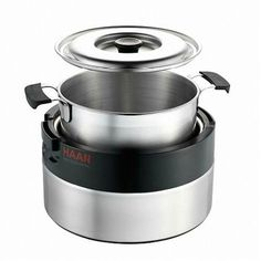 New Haan Tc1000 Heat Retaining Heating Cooker Food Rice Warm Stainless Silver ** Click on the image for additional details.
