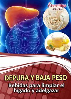 Bebidas para Desintoxicar Hígado y Perder Peso | Eternitips