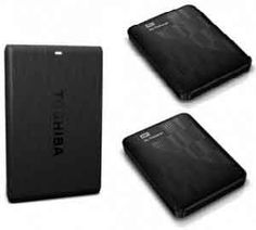 Buy 1TB Portable External Hard Drive:  • Toshiba Rs. 3905 (Amazon) • Seagate Expansion Rs. 3890 (Amazon) • Dell Backup Plus Rs. 4090 (FlipKart) • Samsung Rs. 3890 (FlipKart) • Seagate Backup Plus Rs. 4791 (Amazon) • Western Digital Rs. 4643 (Amazon) • Sony HD-E1 2.5 inch 1 TB External Hard Disk (Amazon (Rs. 4996) (FlipKart (Rs. 4440))