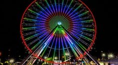 The iconic Navy Pier Ferris wheel is making its new home in Branson in 2016. The Track Family Fun Parks will add a new, yet familiar, attraction to Branson's Highway 76 in 2016—the iconic, 15-story-high Ferris wheel which stood on Chicago's Navy Pier for the past two decades. Grab your crew, your family or your sweetheart, hop in and take the slow ride up and around, surrounded by thousands of lights.