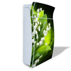 Burg Waechter Mail Box silver type 'Esprit' with motive: Lily of the Valley: Amazon.co.uk: Kitchen & Home
