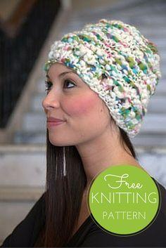 Oskar Quick Knit Hat - Free Knitting Pattern (1 ball project!)