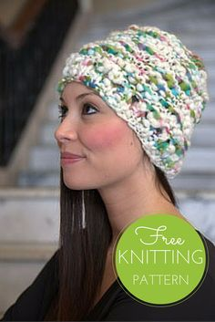 Oskar Quick Knit Hat - Free Knitting Pattern (1 ball project!)