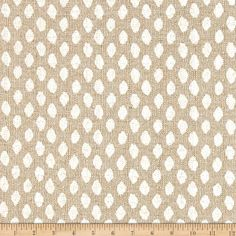 Screen printed on textured cotton (similar to bark cloth), this versatile medium/heavyweight fabric is perfect for some window treatments (draperies, valances, curtains and swags), accent pillows, duvet covers and upholstering furniture, headboards, ottomans and poufs. Colors include blue and white.