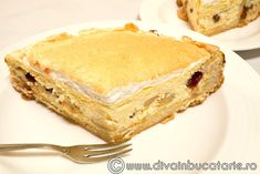 cheesecake-cu-mere-si-merisoare Caramel, Sandwiches, Cheesecake, Food And Drink, Pie, Desserts, Sticky Toffee, Torte, Tailgate Desserts
