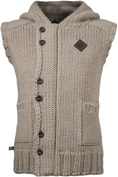The Wolf Hauberk is a warm hand-knitted wool veste with a characteristic hood shaped to mimic a medieval chain coif. The soft wool fabric has been enhanced with high quality acrylic fibers for...