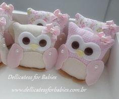Sachê Coruja - Dellicatess for Babies