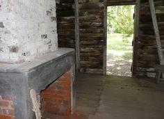 Slave quarter house, Evergreen Plantation, Edgard, Louisiana