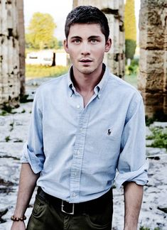 Logan Lerman for Vanity Fair Italy