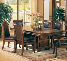 3635SET5 Westminster 5 Pcs Dining Set (Table and 4 Chairs) by Coaster by Coaster Home Furnishings. $1329.05. The Westminster collection offers large size bedroom and dining furniture with a rich finish to give your home a true taste of the Old West Made of Birch solids and veneers the strong look of the panel bed will become the focal point for your master ...