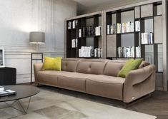 Verso is an Italian handmade leather sofa. Its design, developed by Estro Milano, is elegant and stylish. This Italian leather sofa begs to be caressed. Italian Leather Sofa, Italian Sofa, Italian Furniture, Elegant Sofa, Diy Sofa, Leather Furniture, Sectional Sofa, Seat Cushions, Upholstery