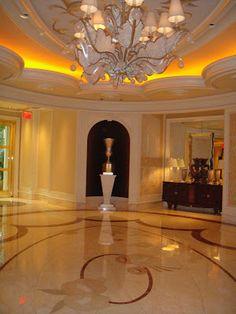Entradas Fabulosas.  Wynn Hotel, Las Vegas.  www.decorecomgigi.com