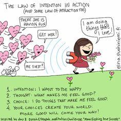 Palasia sateenkaaresta: The Law of Intention
