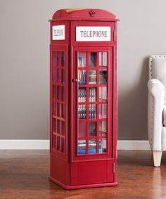 Another great find on #zulily! Phone Booth Storage Cabinet #zulilyfinds