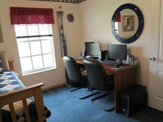 Third bedroom, many uses like, bedroom, guest room, home office, exercise room.