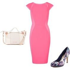 """Pink"" by m-isa-bell on Polyvore"