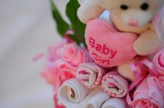 Beautiful creative personalised baby gifts for baby girls. #babygifts #babyhampers #girlbabygifts