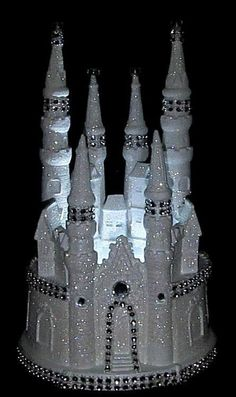 CINDERELLA CASTLE LIGHTED WEDDING CAKE TOPPER FAIRYTALE   Home & Garden, Wedding Supplies, Wedding Cake Toppers   eBay!