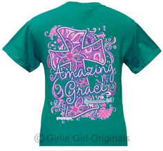 Girlie Girl Originals Amazing Grace Shortsleeve Jade T Shirt