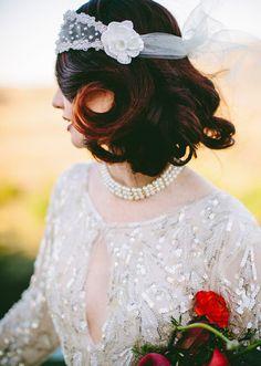 Great Gatsby wedding inspiration | photos by Lauren Scotti | 100 Layer Cake
