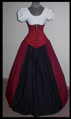 Good uniform for serving ladies. Renaissance Costume, Medieval Costume, Renaissance Clothing, Medieval Dress, Historical Clothing, Old Dresses, Pretty Dresses, Trendy Outfits, Cool Outfits