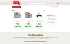 Paintonline.nl Magento AFAS Magento webshop met volledige AFAS ERP software integratie voor zowel B2B als B2C. Productinformatie wordt live vanuit AFAS naar de webshop gesynchroniseerd en orderinformatie wordt vanuit Magento teruggestuurd naar AFAS.   Magento  Design  Realisatie  AFAS Software, Live, Design