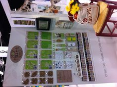 More of our soy paint display inside our booth. #PlaidCrafts - 2012 CHA Winter