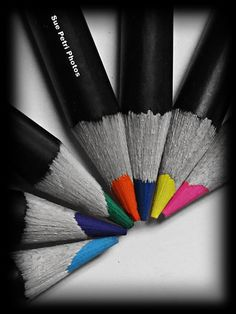 Items similar to Black and White Photography with selective color, hand colored black and white photos, color pencil photos, craft room decor, classroom art on Etsy