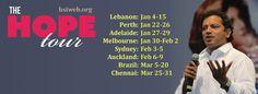The Hope Tour - Jan/Feb/Mar 2015