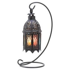 """Check out this item at One Kings Lane! S/2 13"""" Moroccan Tabletop Lanterns"""