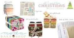 A Holly Jolly Christmas « Moda Bake Shop Melissa Corry's Christmas wish list