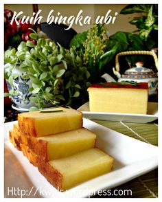 Kuih Bingka Ubi–Baked Tapioca or Cassava Cake (烤木薯糕)  #guaishushu #kenneth_goh  #kuih_bingka_ubi  #Kue_singkong  #baked_cassava_cake  #baked_tapioca_cake  #烤木薯糕