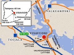 Näin pääset meille - Visavuori Helsinki, Map, Places, Museum, Location Map, Maps, Lugares