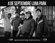 Dos Minutos en el Luna Park – 29 años de Punk