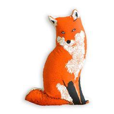 My design inspiration: Plush Fox Pillow on Fab.