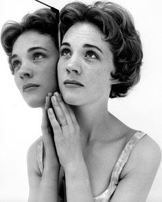 Julie Andrews photographed by Cecil Beaton (1959)