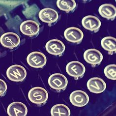 ~ old typewriter letters ~