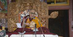 Sa Sainteté le #DalaiLama le 24 juin 2014 au #Zanskar