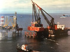 Working on North Sea location with Retriever and Laga for Heerema's Balder.