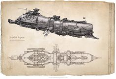 Steampunk Submarine | Posted by alexo at 12:22 PM