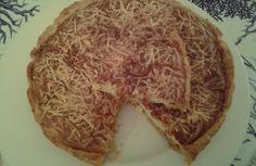 Torta 'soufflé' alla polpa di #granchio  e #formaggio. #Antipasto gustoso da servire come entré in una cena di #pesce. Accompagnata da una fresca #insalatina può essere proposta come piatto unico