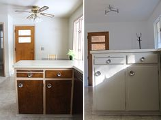 Before and After | Find the Perfect Midcentury Modern Light Fixture >> http://blog.diynetwork.com/maderemade/2014/11/25/find-the-perfect-midcentury-light-fixture/?soc=pinterest
