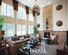 100 Best Two Story Family Room Images