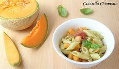 Pasta+fredda+con+prosciutto+e+melone+|+Ricetta