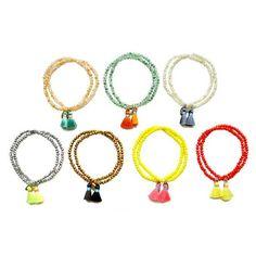 Crystal Tassel Bracelet